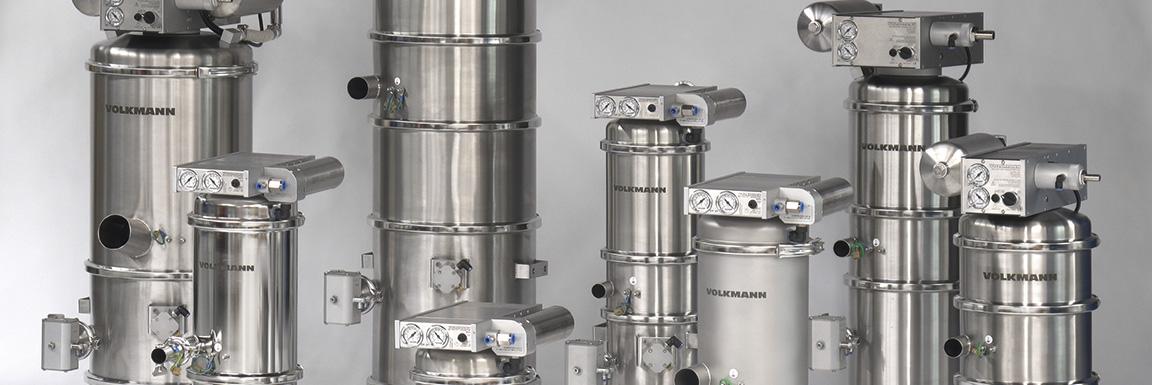 Volkmann VS Series Vacuum Conveyors