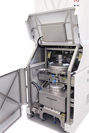 Photo of PowTrex interior below the receiver