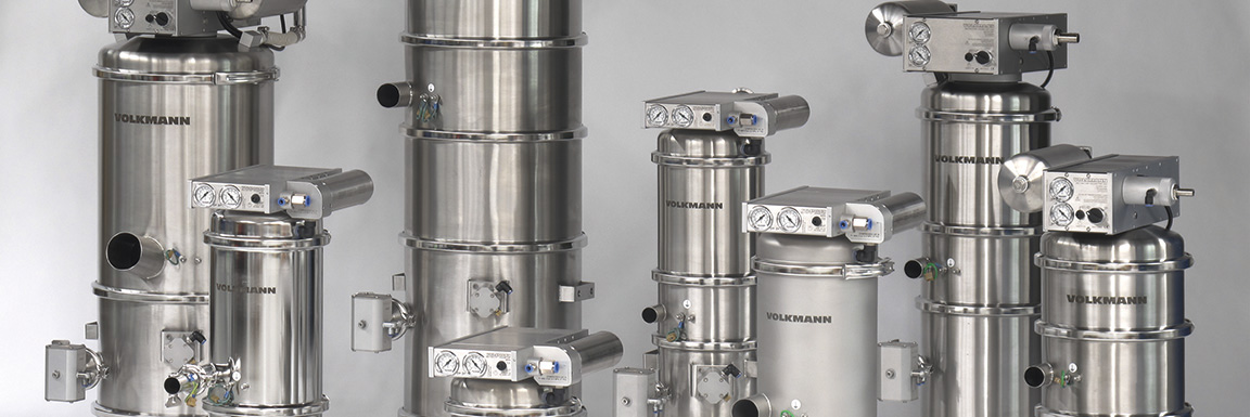 Volkmann VS Series Vacuum Conveyors