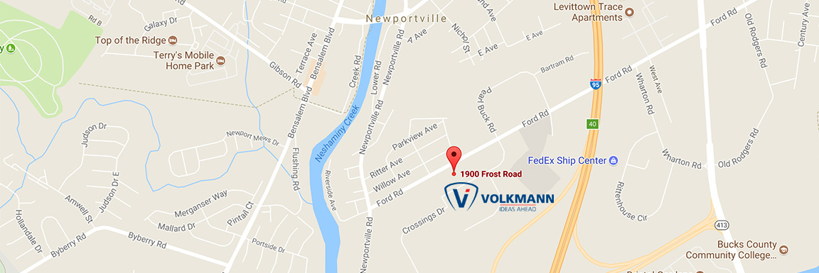 Photo of Map of Volkmann location