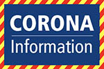 Button to go to Coronavirus (Covid-19) information page.