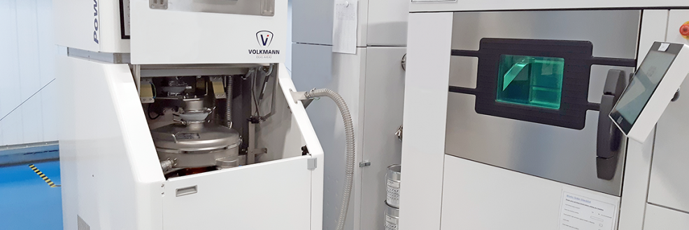 Volkmann Additive Manufacturing System with 3D printer