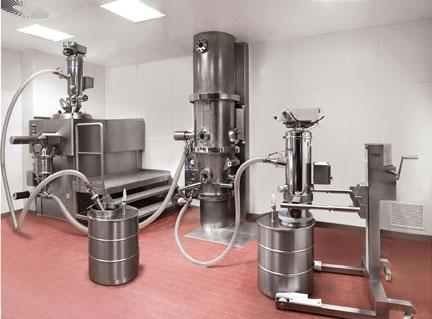 Volklmann pneumatic vacuum conveying system