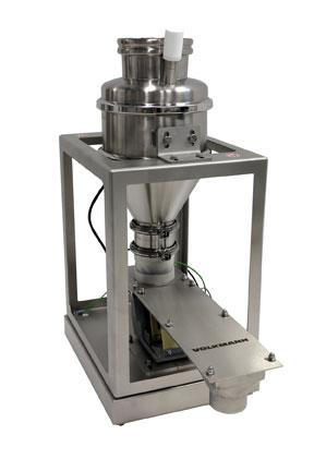Volkmann vibratory feeder dosing system